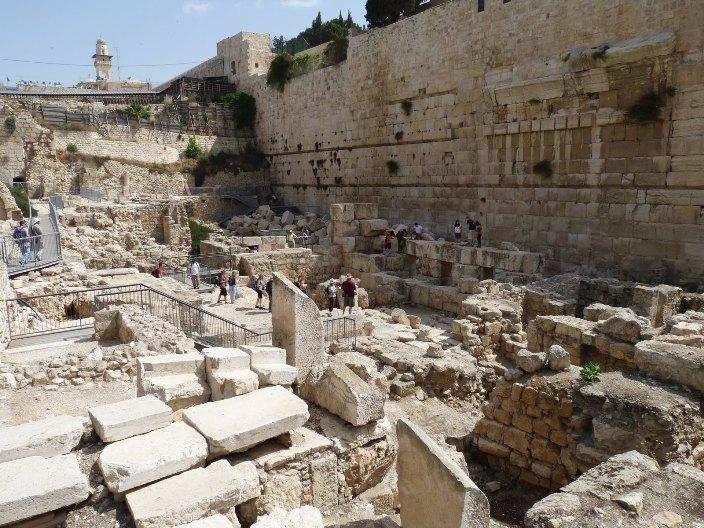 Jerusalem Ruins, Disaster