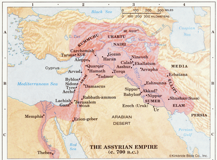 Assyrian Empire, Opposition