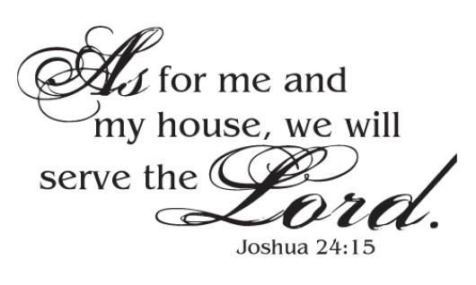 Joshua 24:15, Slave