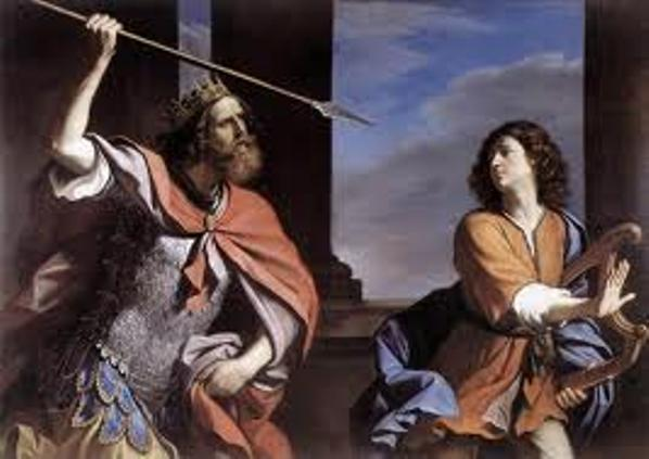 Jealousy Saul and David