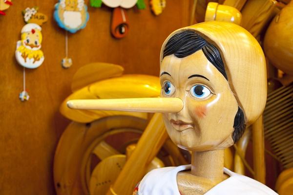 Pinnochio, Liar, Distrust