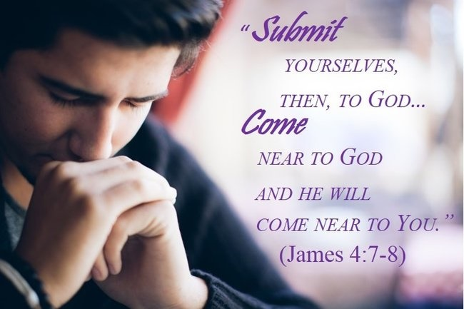 Submit, Man Praying, James 4