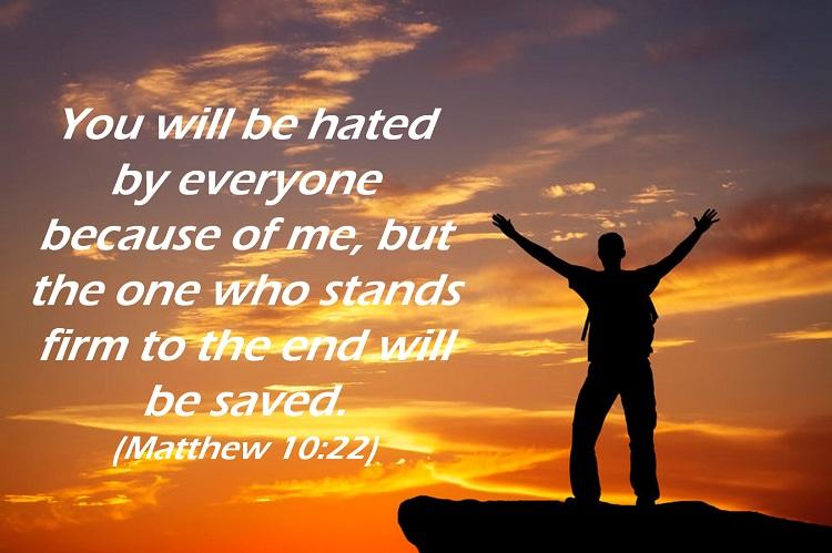 Matthew 10:22, cancer
