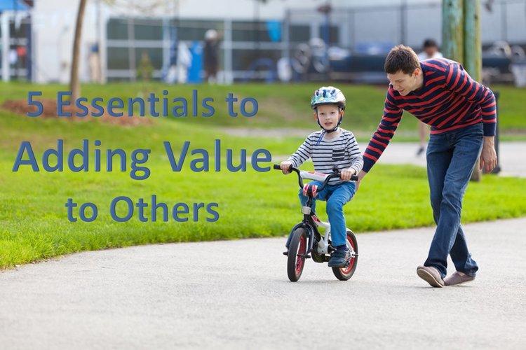 Adding Value Father Son