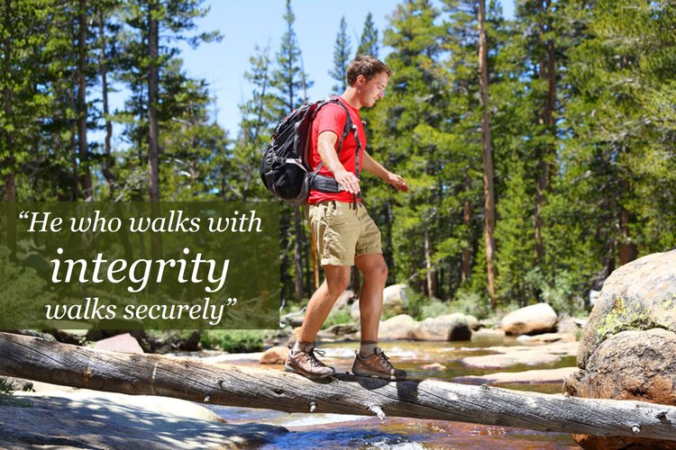 Integrity walks securely
