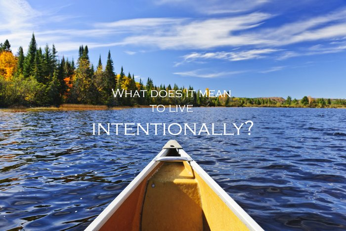 Intentionally, Canoe