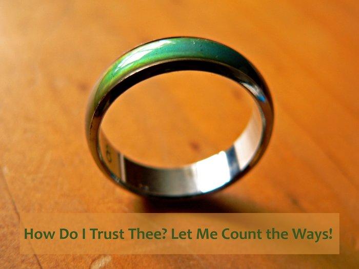 Trust, Mood Ring